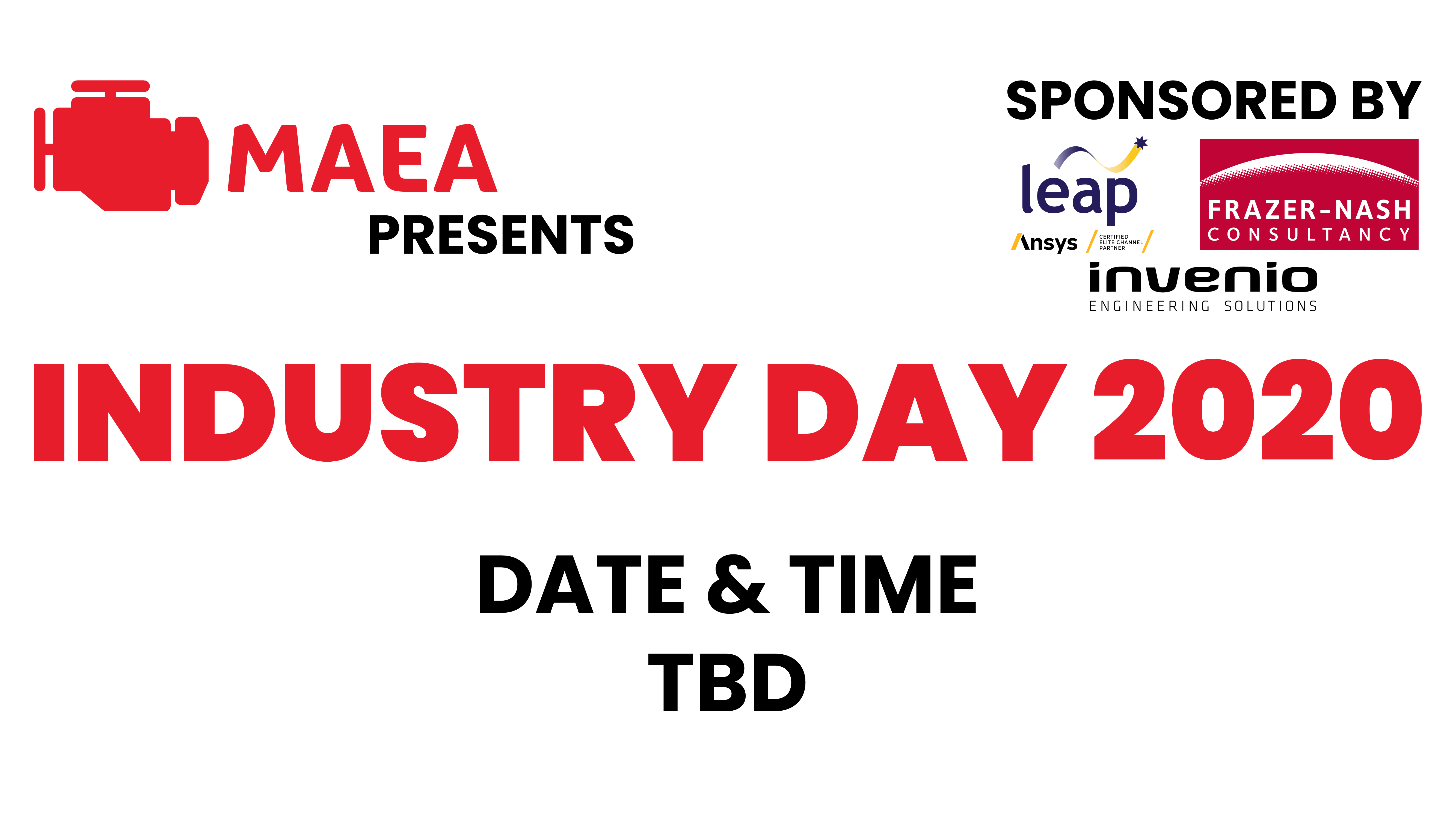 MAEA Industry Day 2020 TBD