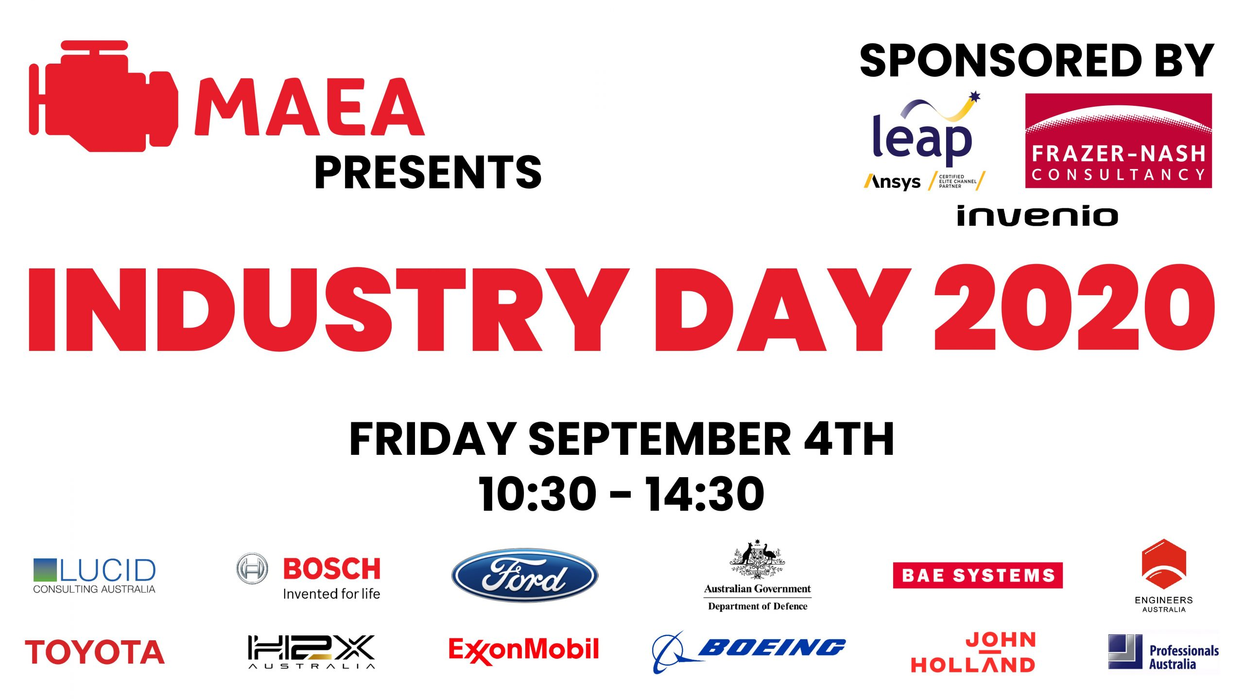 MAEA Industry Day 2020